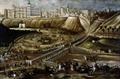 13542 Vista del Alcázar Real y entorno del Puente de Segovia hr.tif