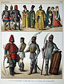 1400, Slavonic. - 060 - Costumes of All Nations (1882).JPG