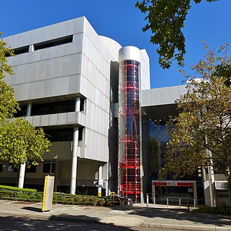 Department of Education (Western Australia) - The Department's headquarters in East Perth