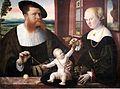 1536 Faber Justinian und Anna von Holzhausen anagoria.JPG