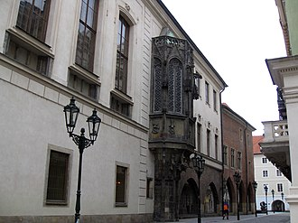 Central Europe - Karolinum of the Charles University in Prague