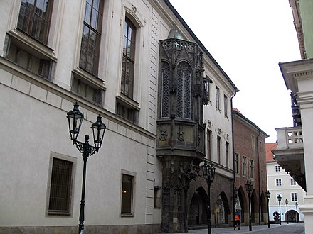 Karolinum of the Charles University in Prague 156 Univerzita Karlova, o Karolinum (Universitat Carolina).jpg