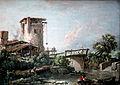 1758 Boucher Landschaft mit Turm und Brücke anagoria.JPG