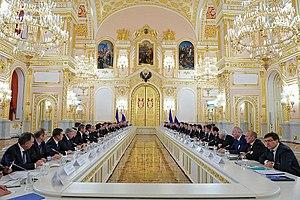 17 December 2013 Ukrainian–Russian action plan - Meeting of the Russian-Ukrainian Interstate Commission on 17 December 2013