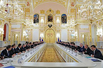17 December 2013 Ukrainian–Russian action plan - Meeting of the Russian-Ukrainian Interstate Commission on 17 December 2013