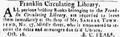 1809 FranklinCirculatingLibrary BostonGazette Oct16.png