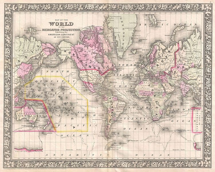 File:1866 Mitchell Map of the World on Mercator Projection - Geographicus - WorldMercator-mitchell-1866.jpg