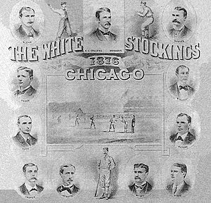 1876 Chicago White Stockings season - The 1876 Chicago White Stockings