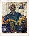 187 Selbstbildnis blau, Hans Faehnle, 1958.jpg