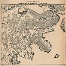 Massachusetts Subway Map.History Of The Mbta Wikipedia