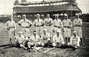 1888 Pittsburg Alleghenys season - Image: 1888 Pittsburg Alleghenys