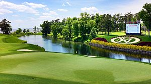 William & Mary Tribe - The golf teams host their tournaments at Kingsmill Resort.
