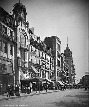 Keith's Theatre (Boston) - Keith's Theatre, Tremont Street, Boston, c. 1906 (Library of Congress)