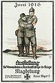 1915-06 Ausstellung Verwundeten- und Krankenfürsorge Erster Weltkrieg Magdeburg Freimaurerloge Ferdinand zur Glückseligkeit Peter Behrens A. Molling & Comp. Hannover Berlin.jpg