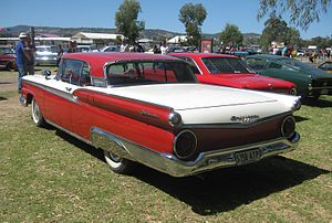Ford Fairlane 500 Skyliner - 1959 Ford Galaxie Skyliner with both the Galaxie and Fairlane 500 badges