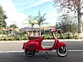 1964 Vespa 90 Small Frame made by Piaggio now in California 1.jpg