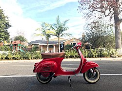 1964 Vespa 90 Small Frame made by Piaggio now in California 1.jpg
