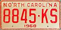 1968 North Carolina license plate 8845-KS.jpg