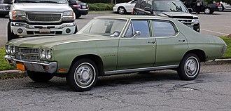 Chevrolet Chevelle - 1970 Chevrolet Chevelle Malibu 4-Door Sedan