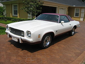 Chevrolet Chevelle Laguna - 1974 Chevrolet Chevelle Laguna Type S-3 Colonnade hardtop coupe