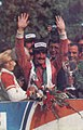 1975 Italian GP - The winner Clay Regazzoni on the podium.jpg