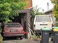 1982 Honda Civic Estate and sad Mitsubishi Delica (12360044785).jpg