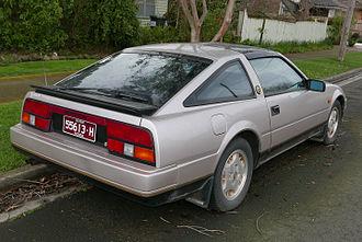 Nissan 300ZX - 1984 Nissan 300ZX rear