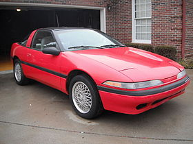 1990 Plymouth Laser RS Turbo red.jpg