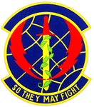 1993 Communications Sq emblem.png