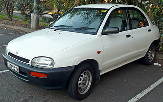 Autozam - Image: 1994 Mazda 121 (DB Series 2) 1.3 sedan (2009 06 06)