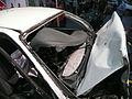 1997-1999 Holden VT Commodore Executive sedan (100 kilometres per hour wreckage) 07.jpg