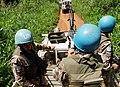 19 mai 2015, Beni, Province du Nord-Kivu, RD Congo - Des Casques bleus de l'ONU mènent une patrouille terrestre dans les environs de Beni. (17823913164).jpg