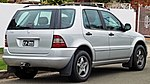 2000 Mercedes-Benz ML 320 (W 163 MY00) wagon (2010-09-23) 02.jpg