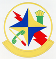2001 Communications Sq emblem.png