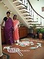 2006 kolam decoration for Pongal festival 2.jpg