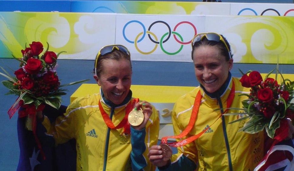 2008 Emma Snowsill and Emma Moffatt