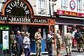 2009-06-05 146 Sainte-Mère-Église street scene with reenactors 3.jpg
