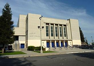 Bakersfield High School - The Harvey Memorial Auditorium
