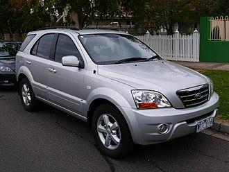 Kia Sorento - 2009 Kia Sorento EX (Australia)