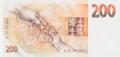 200 Kčs 1992 reverse.png