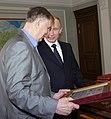 2010-06-04 Владимир Путин, Виктор Тихонов (3).jpeg