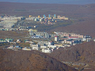 Petropavlovsk-Kamchatsky - Image: 2011 10 15 pk gorizont severo vostok 1280x 960
