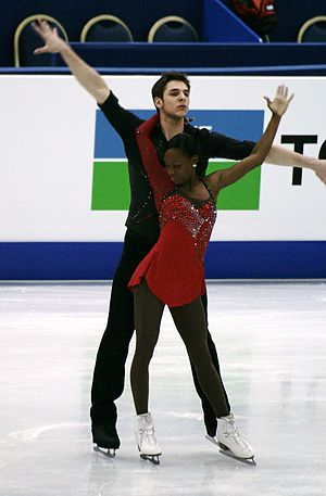 Morgan Ciprès - James and Ciprès compete in 2012