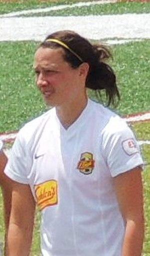 Sarah Huffman - Huffman with Western New York Flash, July 2013