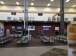 2015-05-05 10 54 49 Passenger waiting area within the terminal at the Elko Regional Airport in Elko, Nevada.jpg