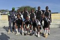 2015 03 04 AMISOM Police football players play with Dharkenley Team-2 (16715240082).jpg