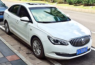 Buick Excelle GT Chinese compact car