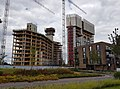 2016 Woolwich, Royal Arsenal, Waterfront construction site 24.jpg