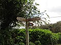 2017-04-26 Coast footpath sign, Loop road, Trimingham.JPG