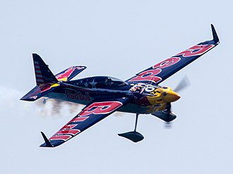 Kirby Chambliss - Chambliss competing at the 2017 Red Bull Air Race of Chiba